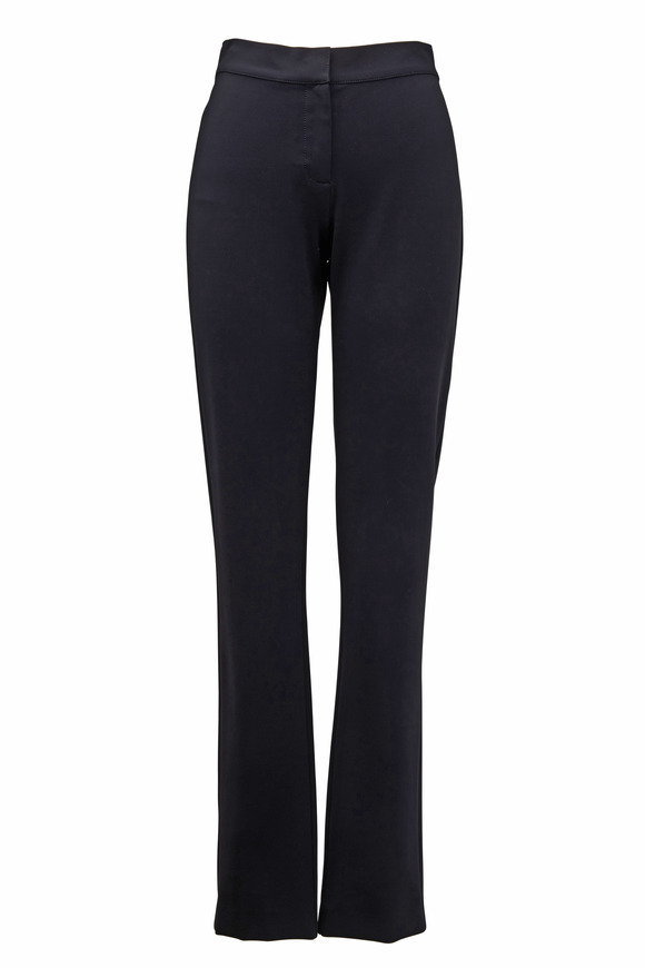 Derek Lam Black Jersey Leggings
