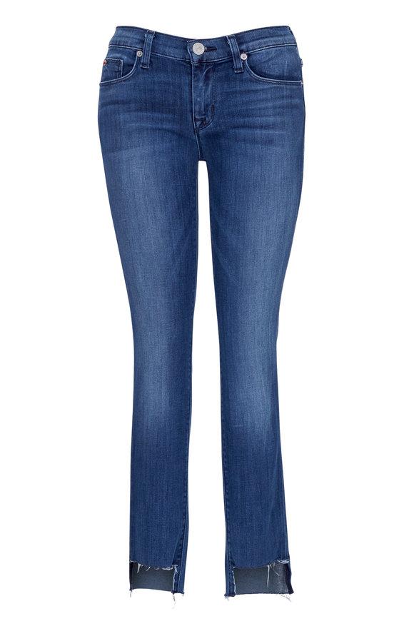 Hudson Clothing Colette Mid-Rise Skinny Step Hem Jean
