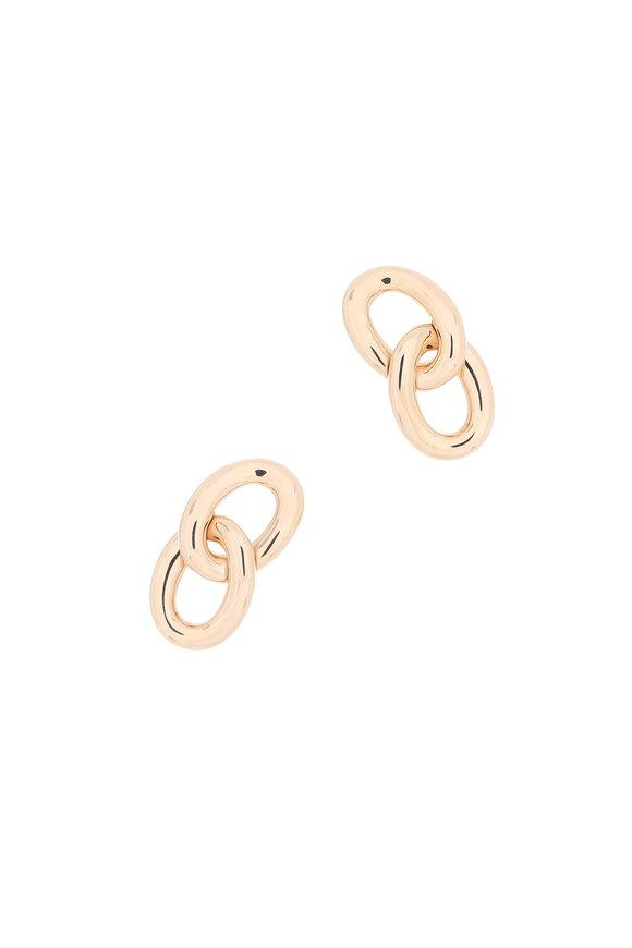 Pomellato 18K Rose Gold Tango Earrings
