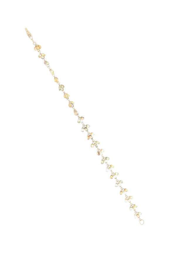 Sutra 18K Yellow Gold Diamond Bracelet