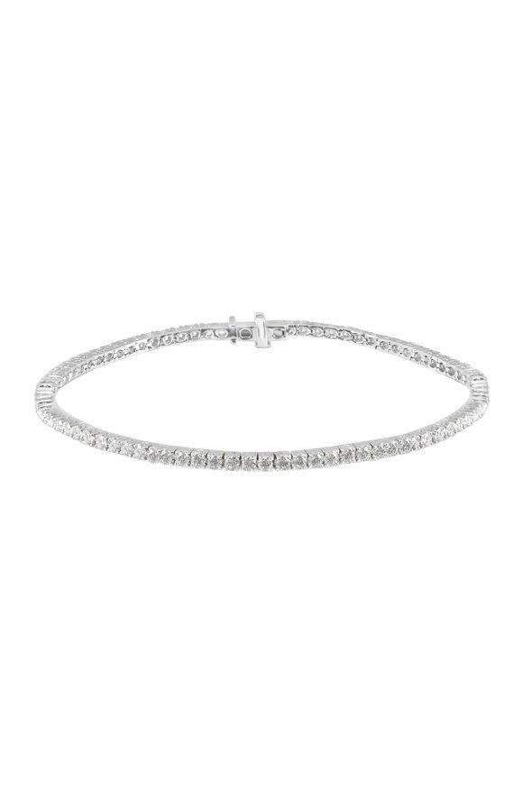 Nam Cho 18K White Gold Diamond Bracelet