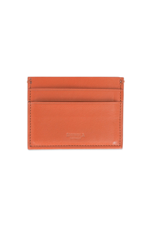 Shinola Bourbon Five Pocket Card Case