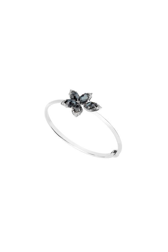 Stephen Webster 18K White Gold Hematite & Diamond Bracelet