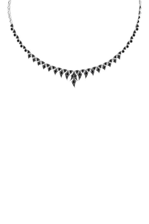 Stephen Webster 18K Gold Black Diamond Magnipheasant Necklace