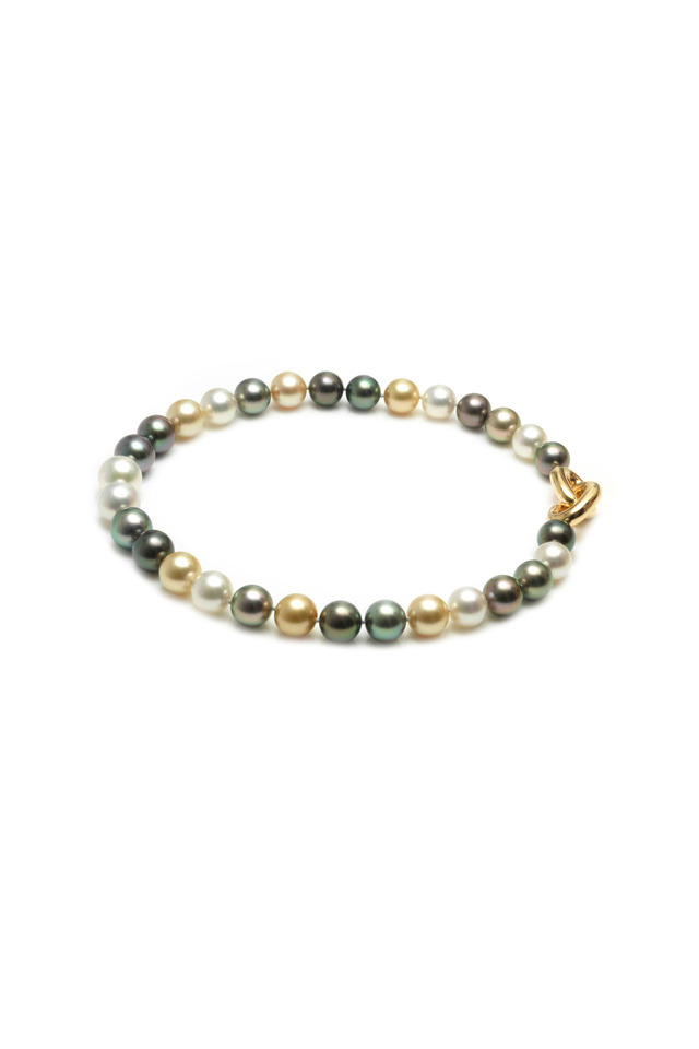 Angela Cummings Yelow Gold Tahitian Pearl Necklace