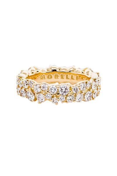Paul Morelli - 18K Yellow Gold Diamond Band
