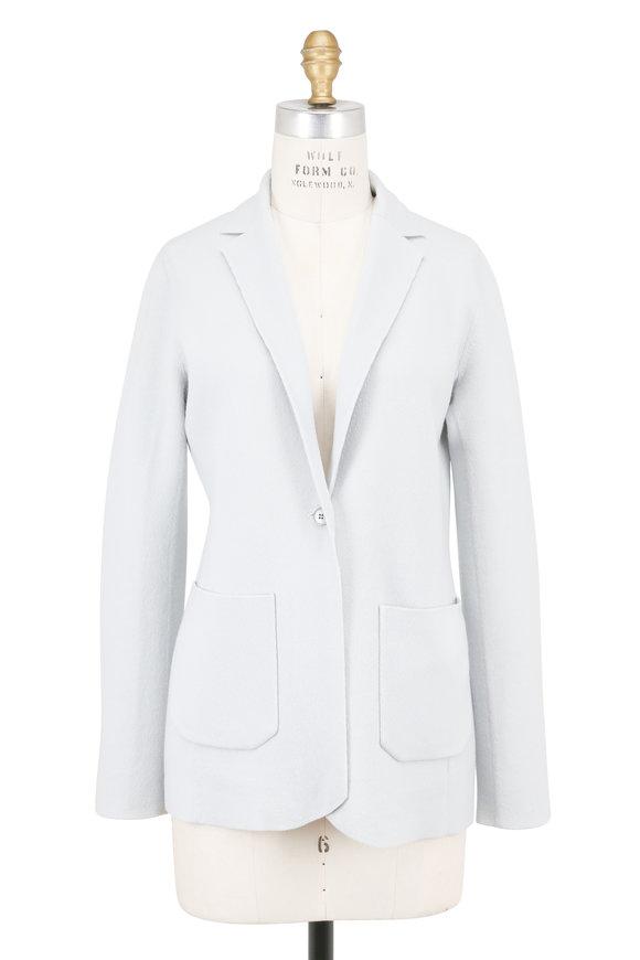 Akris Iceman & Moonstone Cashmere Reversible Jacket