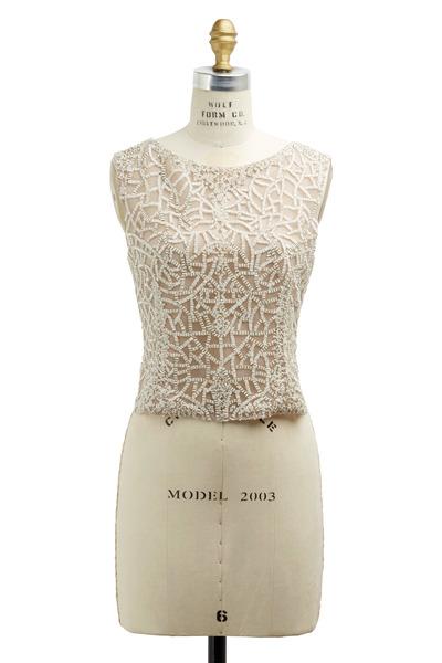 J. Mendel - Blush Silk Blouse