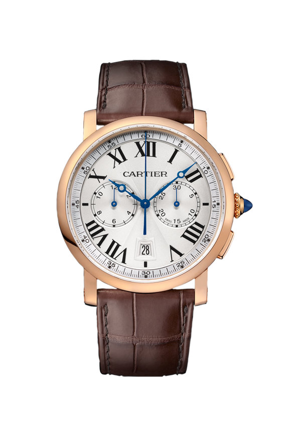 Cartier Rotonde de Cartier Chronograph Watch, 40mm