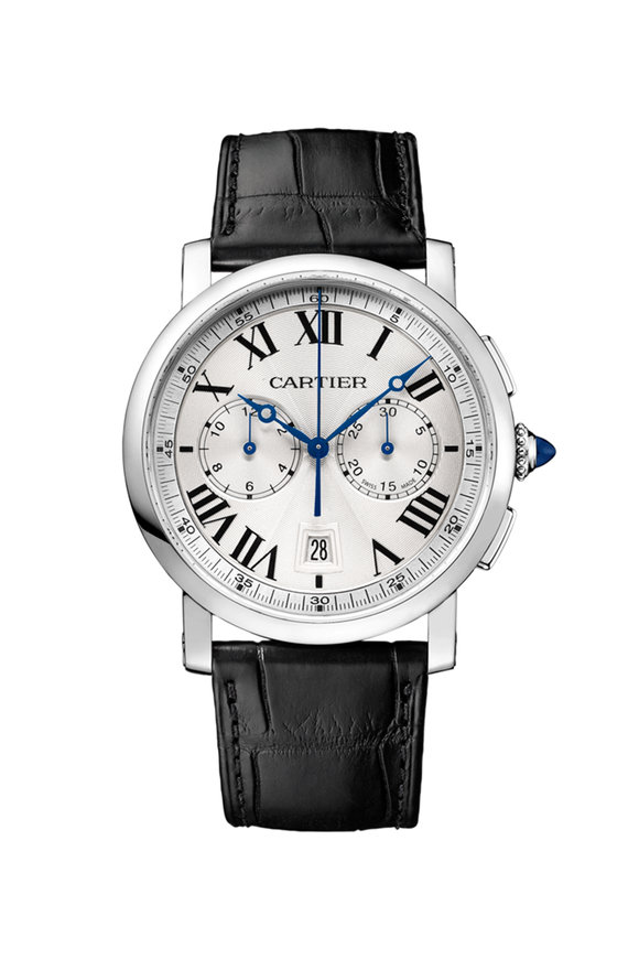 Cartier Rotonde de Cartier Chronograph Watch, 40mm