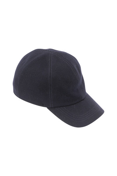 Wigens - Navy Blue Wool Cap