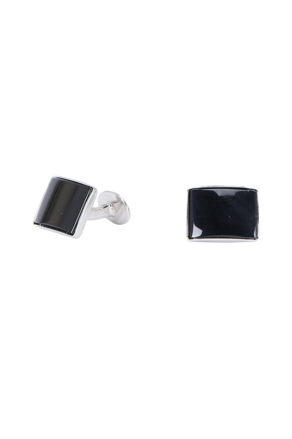 David Donahue Black Onyx Square Cuff Links