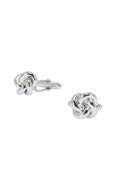 David Donahue - Sterling Silver Knot Cuff Links