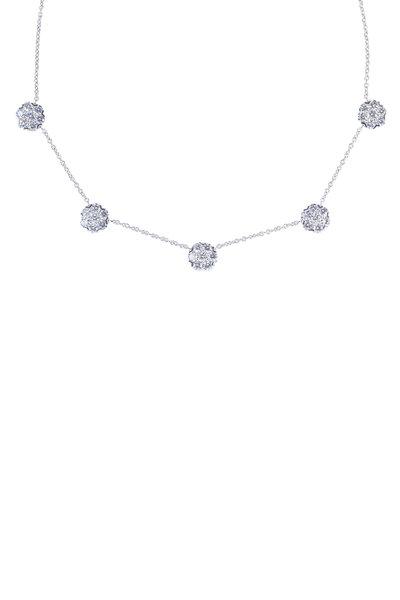 Oscar Heyman - Platinum Diamond Necklace