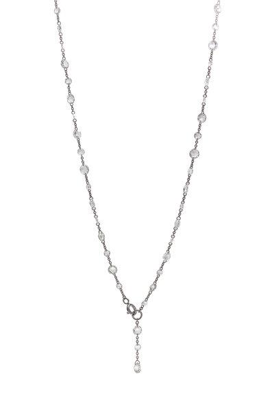 64 Facets - 18K White Gold Diamond Chain