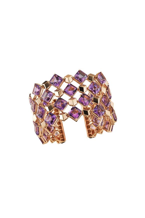 Paolo Costagli Amethyst Cuff Bracelet