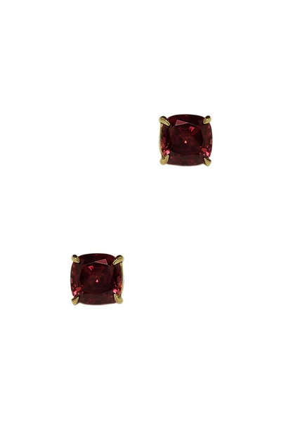 Paolo Costagli - 18K Rose Gold Red Garnet Studs