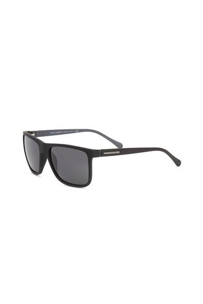 Dolce & Gabbana - Square Black Sunglasses