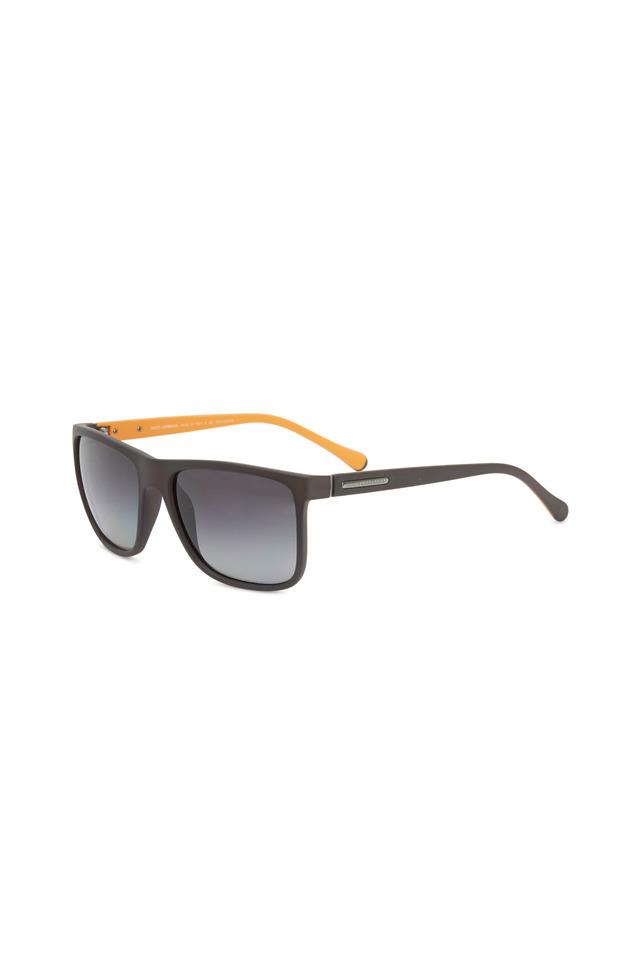 Square Gray & Orange Sunglasses