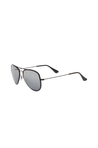 Ray Ban - Pilot Sand Black Polarized Pilot Sunglasses