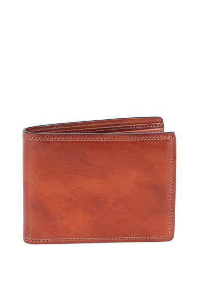 Bosca - Amber Deluxe Executive Eight Pocket Wallet