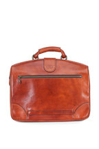 Bosca - Amber Leather Partners Soft Briefcase