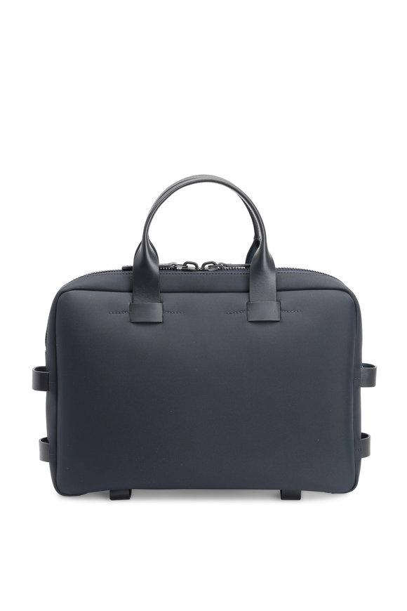Troubadour Navy Blue Nylon Briefcase