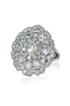 Nam Cho - Platinum Flower Ring