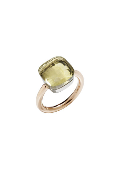 Pomellato - Nudo 18K Rose Gold Lemon Quartz Ring