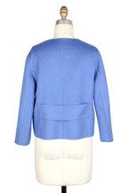 Kiton - Blue Double-Faced Cashmere Reversible Jacket