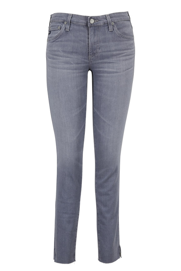 AG - Adriano Goldschmied The Legging Super Skinny Raw Hem Ankle Jean