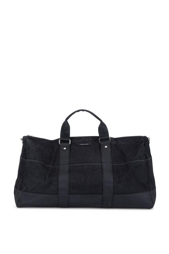 Hook + Albert Black Gym Duffel Bag