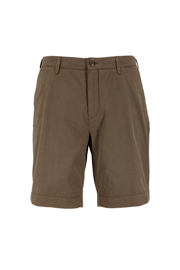 Polo Ralph Lauren Defender Green Newport Twill Shorts