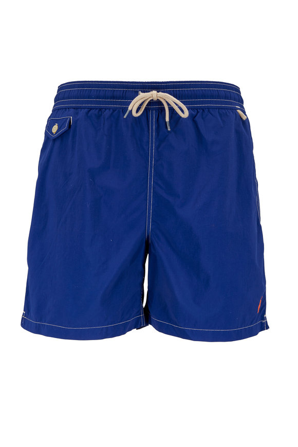 Polo Ralph Lauren Traveler Navy Blue Swim Trunks