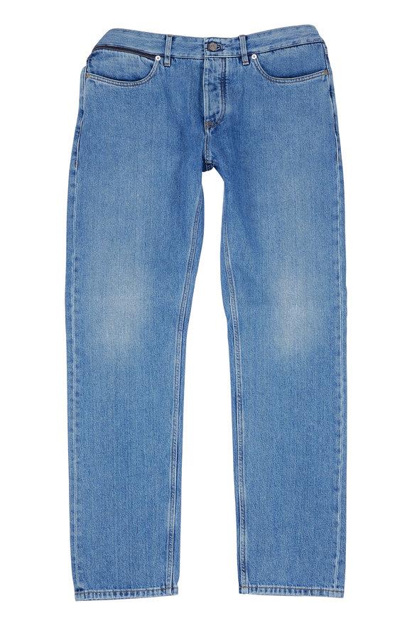 Ermenegildo Zegna Luxe Stonewash Slim Fit Jean