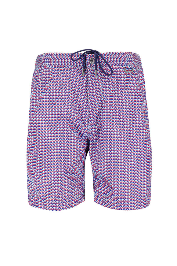 Peter Millar Multicolor Oasis Dot Swim Trunks