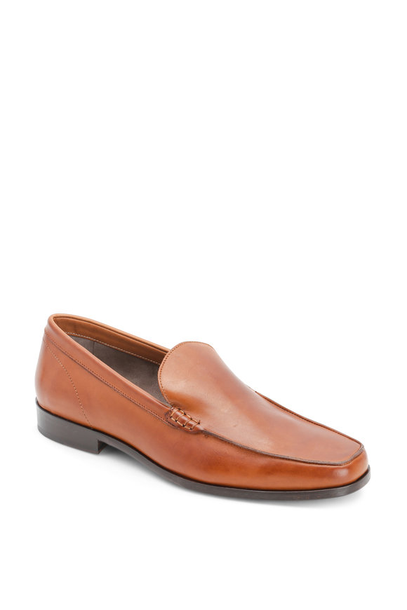 Paraboot Austin Brandy Leather Loafer