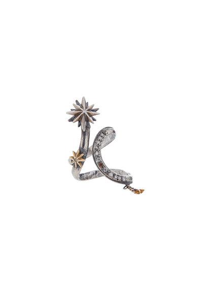 James Banks - Gold & Silver Star Ring