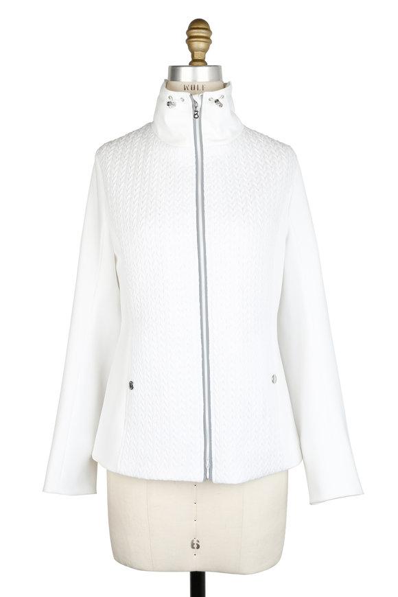 Bogner Fraya White Puffer Jacket