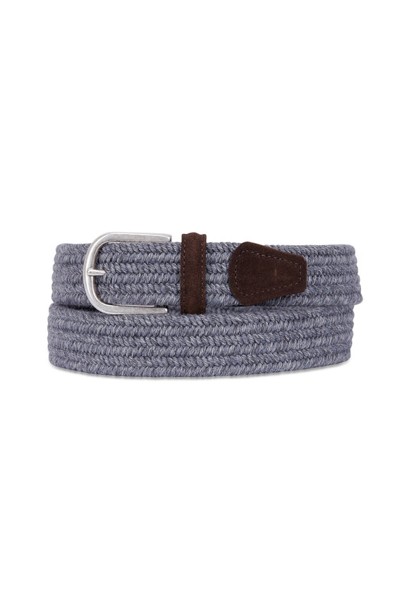 Anderson's Grey Stretch Woven Belt