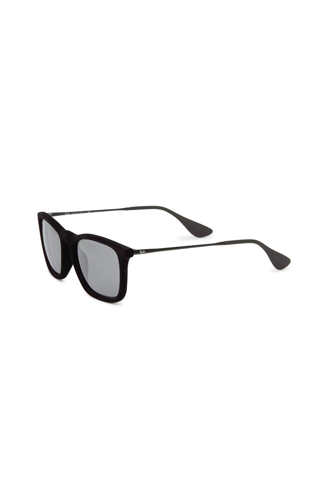 Chris Velvet Black & Gray Sunglasses