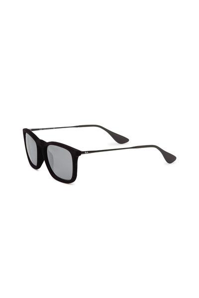 Ray Ban - Chris Velvet Black & Gray Sunglasses