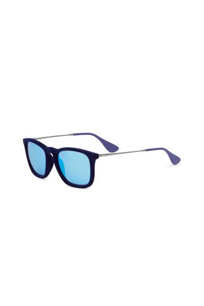 Ray Ban - Chris Velvet Blue Sunglasses