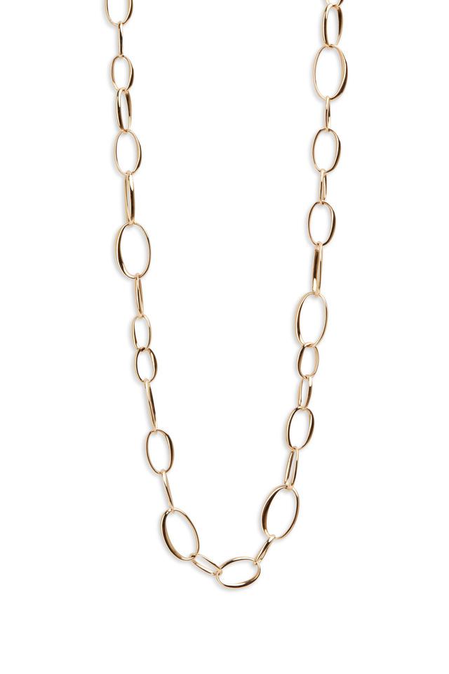 18K Rose Gold Link Chain