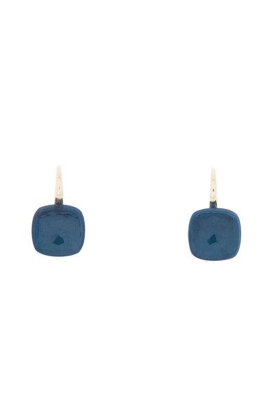 Pomellato - Nudo 18K Rose Gold London Blue Topaz Earrings