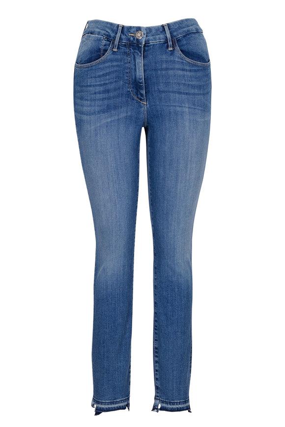 3x1 W3 High-Rise Channel Seam Skinny Crop Jean