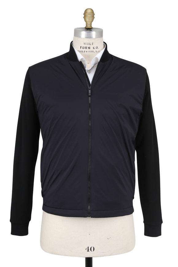 Z-Zegna Black Tech Merino Performance Jacket
