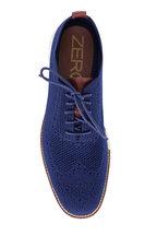 Cole Haan - Zerogrand Stitchlite Marine Blue Knit Oxford