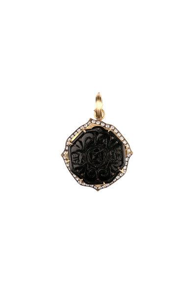 Sylva & Cie - Black Jade Pendant