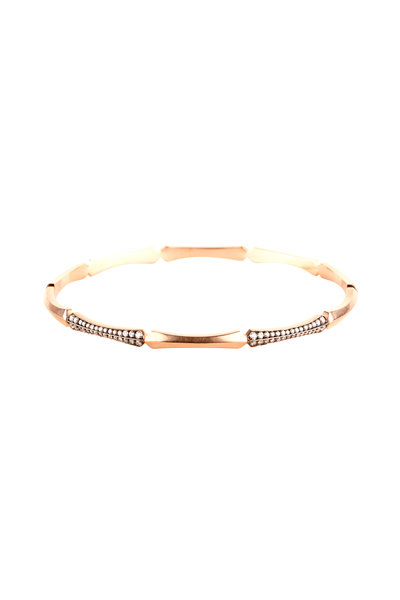 Sylva & Cie - 14K Rose Gold Diamond Bracelet